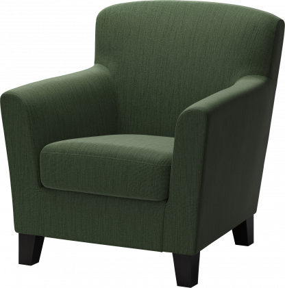 dump old armchair